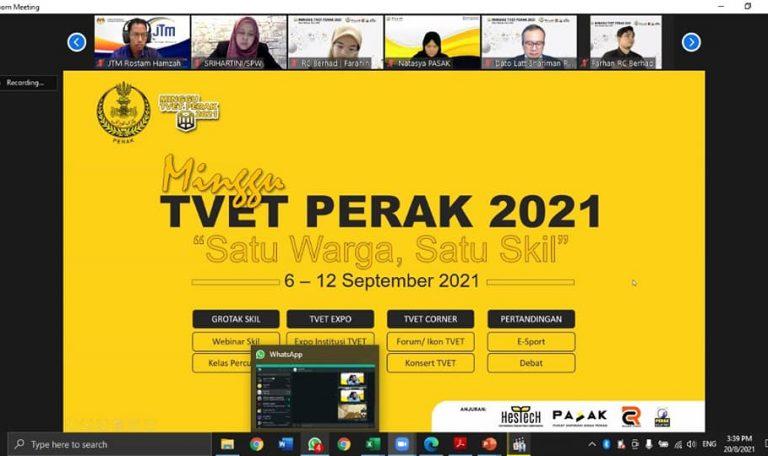 Mesyuarat Penyelarasan Minggu TVET Perak 2021 (MTP2021)