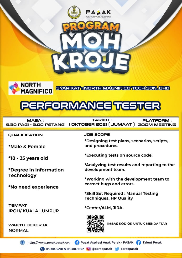 North Magnifico Tech - Performance Tester