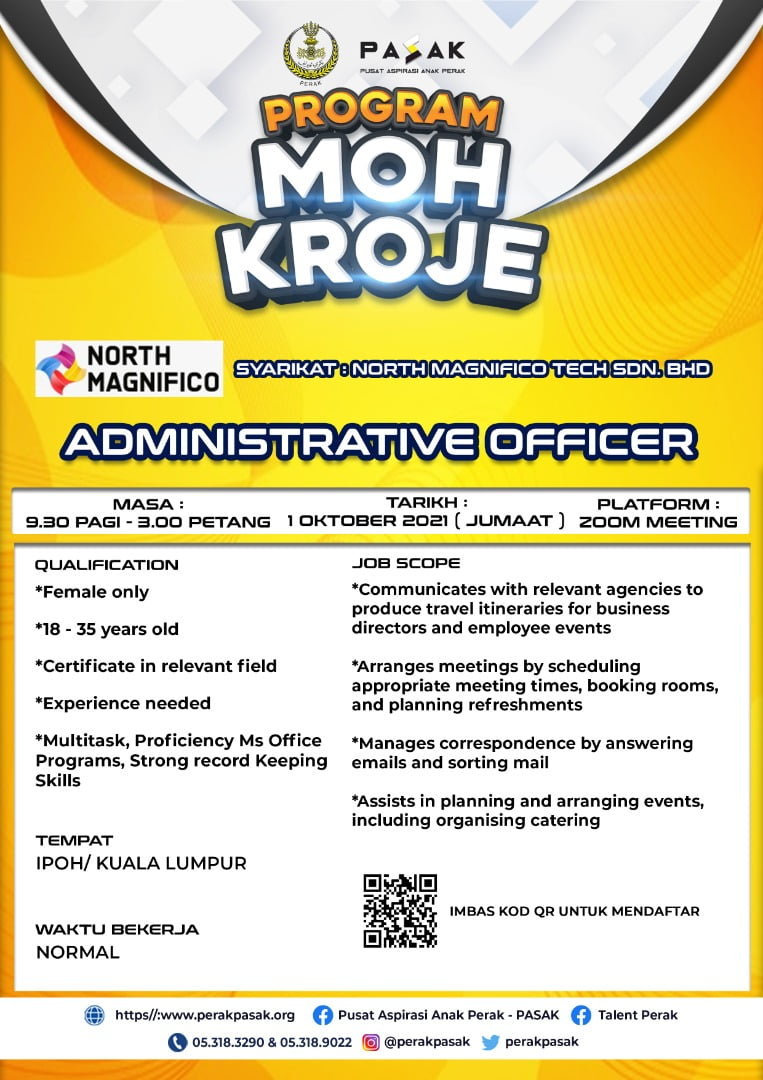 North Magnifico Tech - Administrative Officer