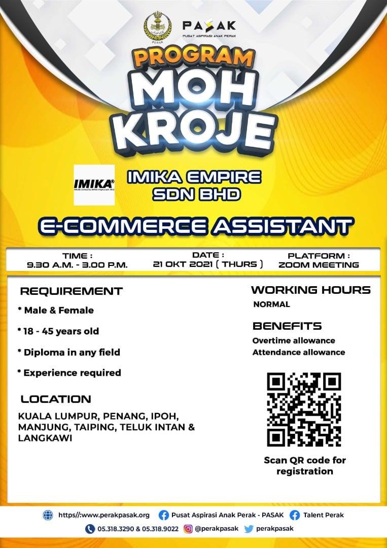 IMIKA EMPIRE SDN BHD - E-Commerce Assistant