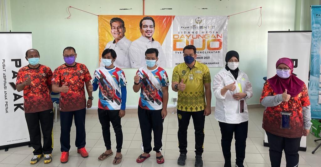 Sesi Sidang Media Pelancaran Dayungan DUO TVET OKU Penglihatan
